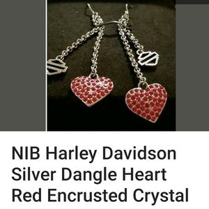 Harley-Davidson earrings